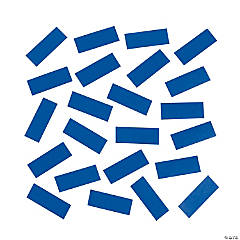 Blue Tissue Paper Confetti