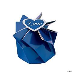 Blue Wedding Blossom Boxes