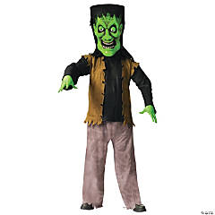 Bobble Head Green Monster Adult Costume