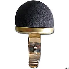 Bohin Wrist Pincushion-Black Velvet