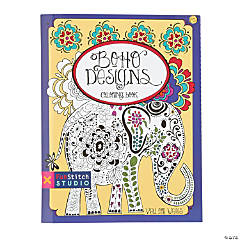 Boho Designs Coloring Book