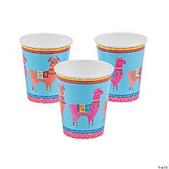 Boho Llama Paper Cups