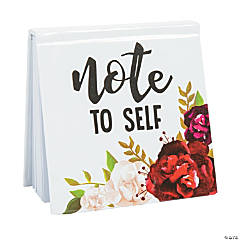 Bold Bouquet Favor Notepads