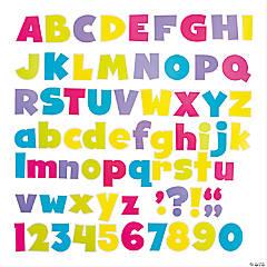 Bold Brights Designer Letters