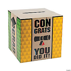 Bold Graduation Card Box