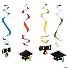 Bold Graduation Hanging Swirls