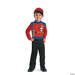 Boneyard Racer Boy's Costume