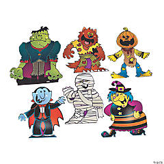 Boo Bunch Halloween Cutouts