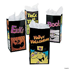 Boo Bunch Halloween Treat Bags