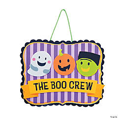 Boo Crew Sign Craft Kit
