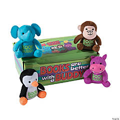 Book Buddy Stuffed Animals