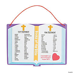 Books of the Bible Sign Craft Kit