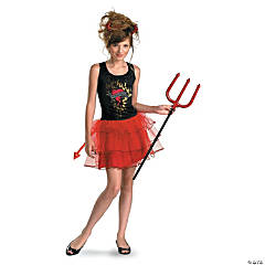 Born Bad Devil Costume for Teen Girls