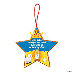 Born Unto Us The King Ornament Craft Kit