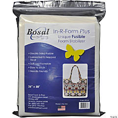 Bosal In-R-Form Plus Unique Fusible Foam Stabilizer, White- 36