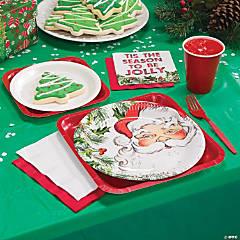 Botanical Santa Party Supplies