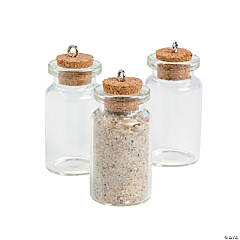 Bottle Charms with Cork Stopper