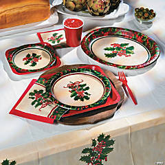 Boughs of Holly Party Supplies