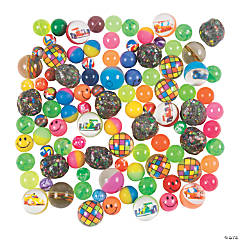 Bouncing Ball Assortment - 100 pcs.
