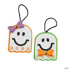 Bow Ghosts Ornament Craft Kit