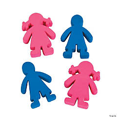 Boy & Girl Erasers