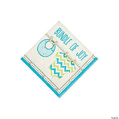 Boy Baby Clothes Beverage Napkins
