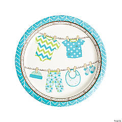 Boy Baby Clothes Dinner Plates