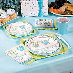 Boy Baby Clothes Party Supplies
