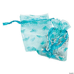 Boy Baby Shower Organza Bags