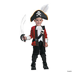 Boy's El Capitan Pirate Costume