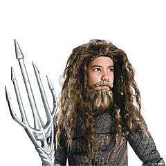 Boy's Justice League™ Aquaman Beard & Wig Set