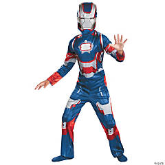Boy's Classic Iron Patriot Costume