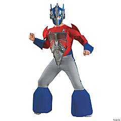 Boy's Deluxe Optimus Prime Costume