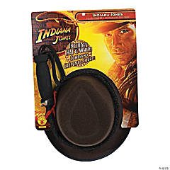 Boy's Indiana Jones Hat & Leather Whip Set