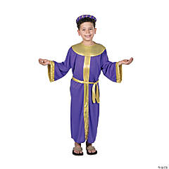 Boyu0027s King Melchior Costume  sc 1 st  Oriental Trading : biblical costume  - Germanpascual.Com