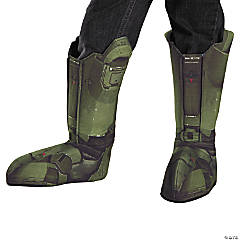 Boy's Master Chief Boot Covers