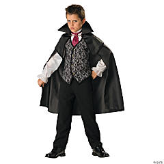 Boy's Midnight Vampire Costume