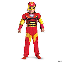 Boy's Muscle Iron Man Costume