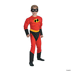 Boy's Muscle Mr. Incredible Costume