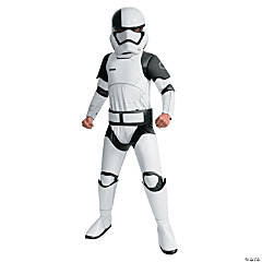 Boy's Super Deluxe Star Wars™ Episode VIII: The Last Jedi Executioner Trooper Costume