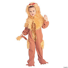 Boy's Wizard of Oz™ Cowardly Lion Costume - Yellow Fur