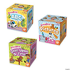 BrainBox Early Learning Games: Set of 3