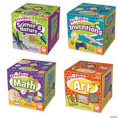 BrainBox S.T.E.A.M. Games: Set of 4