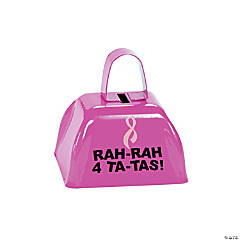 Breast Cancer Awareness Cowbells