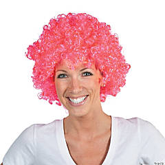 Breast Cancer Awareness Hot Pink Wig