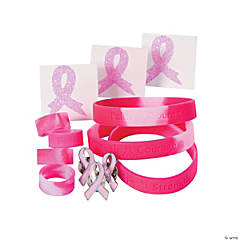 Breast Cancer Awareness Jewelry Assortment