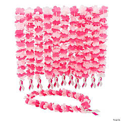 Breast Cancer Awareness Leis