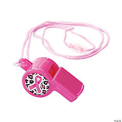 Breast Cancer Awareness Whistles