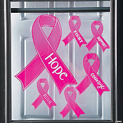 Breast Cancer Awareness Window Clings