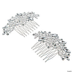 Bridal Crystal Combs